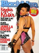 BLACK MEN MAGAZINE SEPTEMBER 2013*KEYSHIA KAOIR*BLAZING THICK VIXENS NEW/SEALED