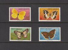 BUTTERFLIES- Turkey - 1988  set of 4 (SC 2421-4)-MNH- X681