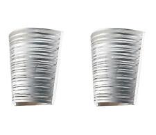 EMPORIUM PIXI coppia di lampade da parete ARGENTO silver