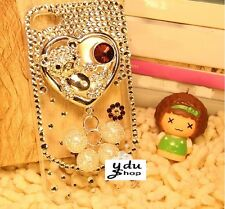 FUNDA CARCASA OSO SWAROVSKI CRYSTAL DIAMOND PARA IPHONE 4