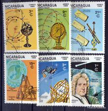 NICARAGUA   TIMBRES  ESPACE  COMETE DE HALLEY   AD47