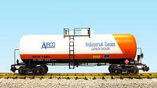 USA Trains G Scale 42 Foot Modern Tank Car R15259  Airco - White, Orange, Black