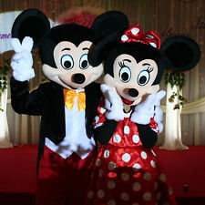 Mickey & Minnie Mascot Costumes - Peppa Fancy Dress Walt Mouse Outfit