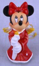 Disney Goebel Minnie Mouse Angel Christmas Tree Ornament w/Three Signatures