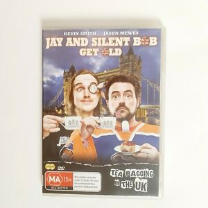 Jay and Silent Bob Get Old DVD Movie Free Post Region 4 AUS - Live Comedy Show