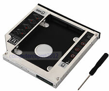 SATA 2nd HDD SSD Hard Drive Optical Caddy for Acer TravelMate 8572T 8572G 8572TG