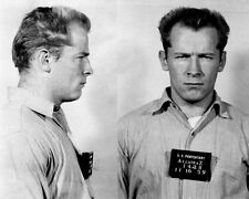 James Whitey Bulger Boston Mob Boss Alcatraz Mug Shot 8.5x11 Photo