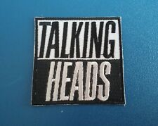 PUNK ROCK HEAVY METAL MUSIC SEW / IRON ON PATCH:- TALKING HEADS ROAD TO NOWHERE