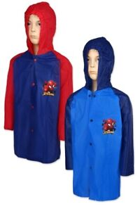 Spiderman Jungen Regenmantel Regenjacke Regen Jacke Regenkleidung