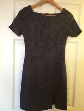 Noël/New Year's Eve Robe de Absolut Taille UK 10 EUR 36 gris