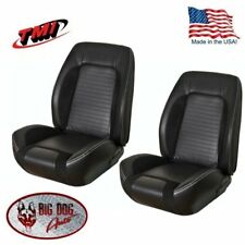 Sport R Front/Rear Upholstery for 1967-68 Camaro Convertible, TMI, Made in US