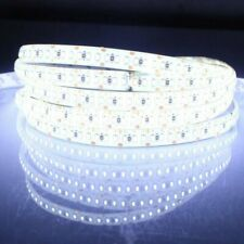 Flexible 5M 12V LED Strip Light Waterproof 300 3528 SMD Rope/Tape Daylight White