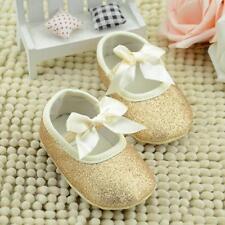 2016 Princess  Glitter Baby Sneaker Anti-slip Soft Crib Sole Toddler Shoes