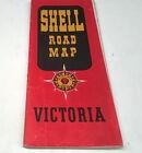 1956 SHELL Oil Co. Road Map of VICTORIA Australia
