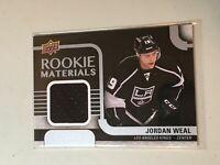 F50006 2015-16 Upper Deck Rookie Materials Jordan Weal Kings Jersey