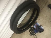 Lot 2 pneus Solex 3800 au 1010 + Chambre à Air + Ruban de jante