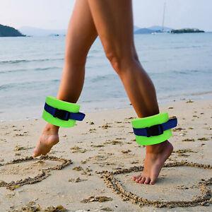 2Pcs Swimming Weight Aquatic Cuff Water Aerobics Fitness Equipment Yoga Pool HOT