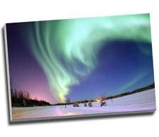 "The Northern Lights Canvas Print Wall Art 30x20"" A1"