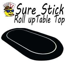 Sure Stick Rubber Foam Table Top - Black Jumbo