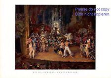 Revue XL Kunstdruck 1929 von Otto Rossow * New York Bühne Tanz Kostüm Cabaret -