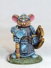 Dark Sword Miniatures Mouse Cleric with Warhammer Model - 39028