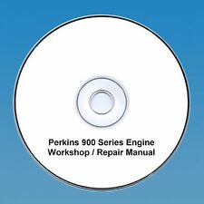 Perkins 900 Series Motores Taller reparación Manual CD Pdf