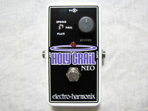Used Electro-Harmonix EHX Holy Grail Neo Reverb Guitar Effects Pedal