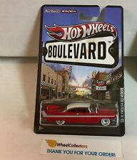 '58 Plymouth Belvedere * RED * Hot Wheels Boulevard w/ Real Riders * G12