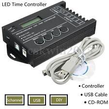 DC12V-24V 20A Programmable LED Light RGB Strip Time Controller 5 Channels Dimmer