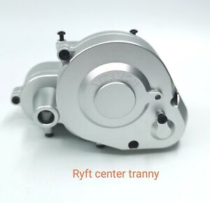VITAVON CNC Alu Center transmission for Axial RBX10 Ryft 4WD Bouncer 1/10 Silver
