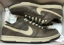 2004 Nike Dunk Low Pro SB Darm Mocha Chino Brown 304292-225 Sz 12