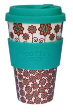 Ecoffee Cup Stockholm with Turquoise Silicone Coffee Cup 400ml