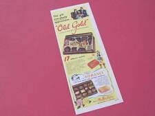 Old Gold Chocolate Mac Robertsons Original Advertisement