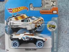Hot Wheels 2017 #188/365 TERRAIN ORAGE blanc HW Neige Stormers