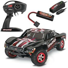 Traxxas Slash 1/16 4x4 Short Course RTR RC Truck MIKE JENKINS w/Batt & Charger