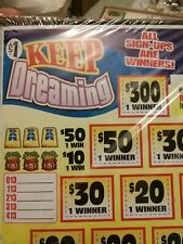 Pull Tabs tickets Casino Keep Dreaming Profit *260* combine shipping available