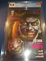 Batman Three Jokers #1 Joker Fish Variant CGC 9.8 NM/M Gorgeous Gem Wow