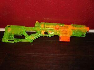 Nerf Long Strike CS-6 Dart Blaster Rifle Gun Sonic Green w/6 Round Mag WORKS