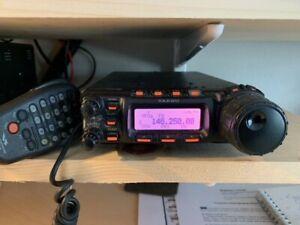 yaesu ft-857d transceiver