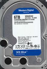 Western Digital WD60EZAZ-00ZGHB0 WX11D 6TB SATA 3.5 A7-10