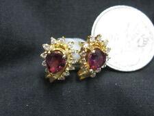 Handmade Ruby Yellow Gold Fine Jewellery