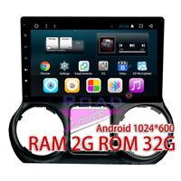 "10.1""2GB RAM+ Android 7.1 Car Stereo For Jeep Wrangler 2015-2016 GPS NAV Radio"