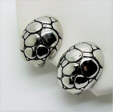 Back design Clip Fashion Earrings A22 Unique Design Style Rhodium Plated Turtle