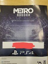 Metro Exodus Winter Theme Bonus DLC code only Playstation 4 PS4 UK