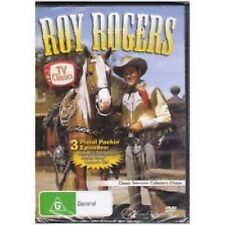 DVD ROY ROGERS Dale Evans Trigger TV Classics Western 3x Episodes B&W R4 [BNS]