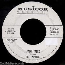 THE TWINKLES-Oh Little Star & Fairy Tales-Girl Group DJ 45-MUSICOR #MU 1031