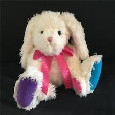 """MIMSIE HOPSALOT - Boyds 14"""" Colorful Easter Bunny Rabbit - BNWT - FREE US SHIP"""