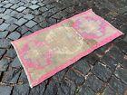Doormats, Handmade vintage rug, Wool rug, Turkish rug, Carpet | 1,5 x 2,9 ft
