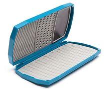Umpqua LT High Magnum Midge Premium Waterproof Fly Box Blue Magnet