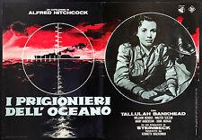 CINEMA-fotobusta I PRIGIONIERI DELL'OCEANO - HITCHCOCK